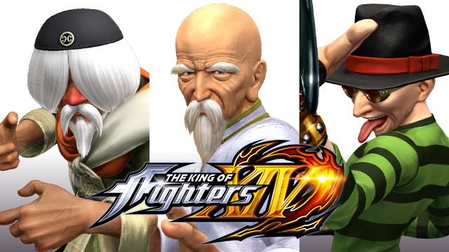 New Images of Tung Fu Rue, Choi and Chin #KOFXIV + Rumour update