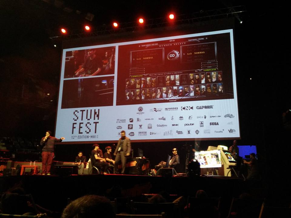 Old Skool Player frustration with #KOFXIV at #stunfest / Footage / Tiers