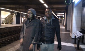 @ Port de Clichy - realised the train got cancelled