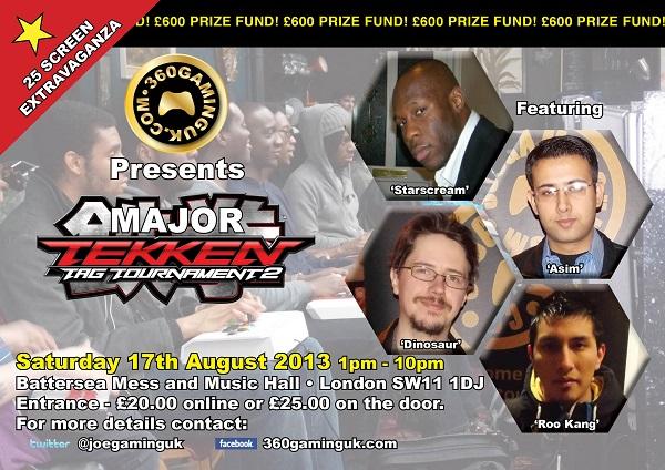 UK TTT2 Major – Saturday 17th August 2013, London UK (by 360GamingUK)