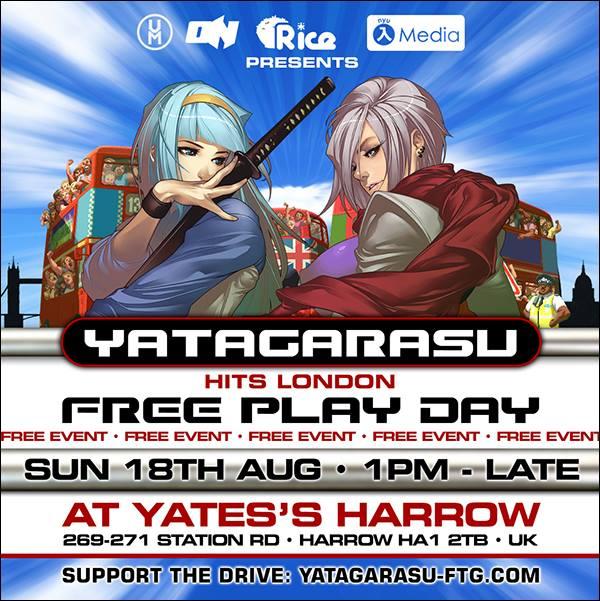Yatagarasu in the UK!
