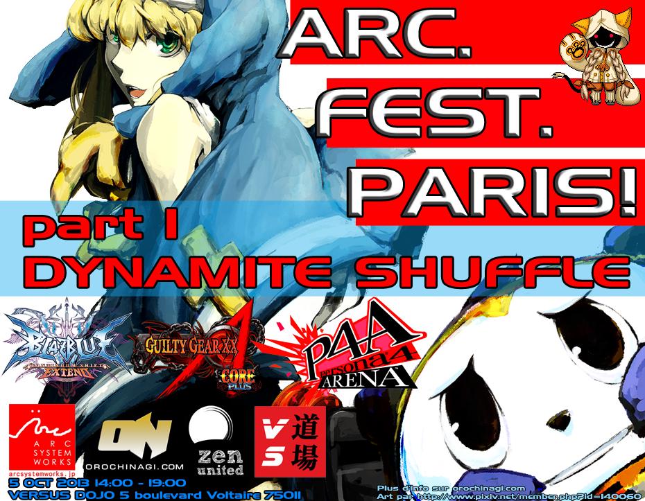 #ARCFestParis 5 Oct 2013
