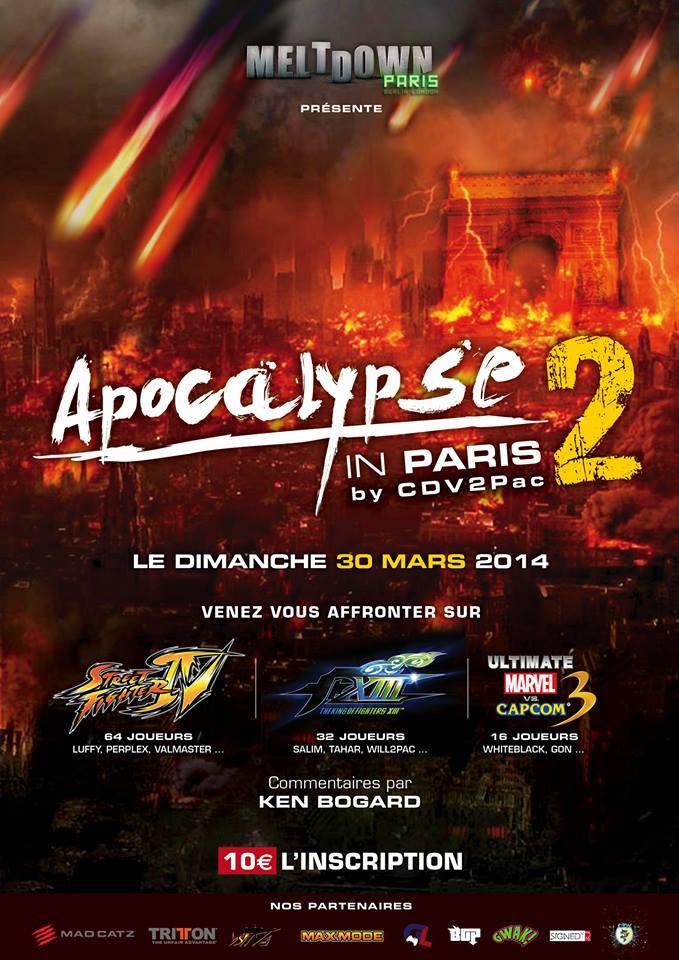 #IGT2014 3v3 Salty Suite / AIP Apocalypse in Paris replays #injustice #sfae #kofxiii #dieminion #louffy