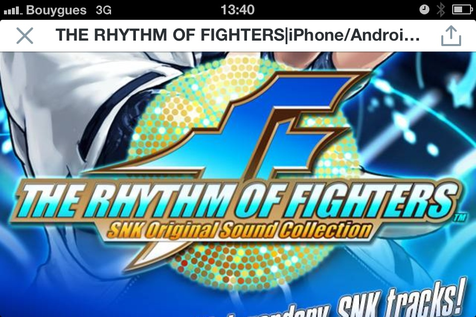 The Rhythm of Fighters!