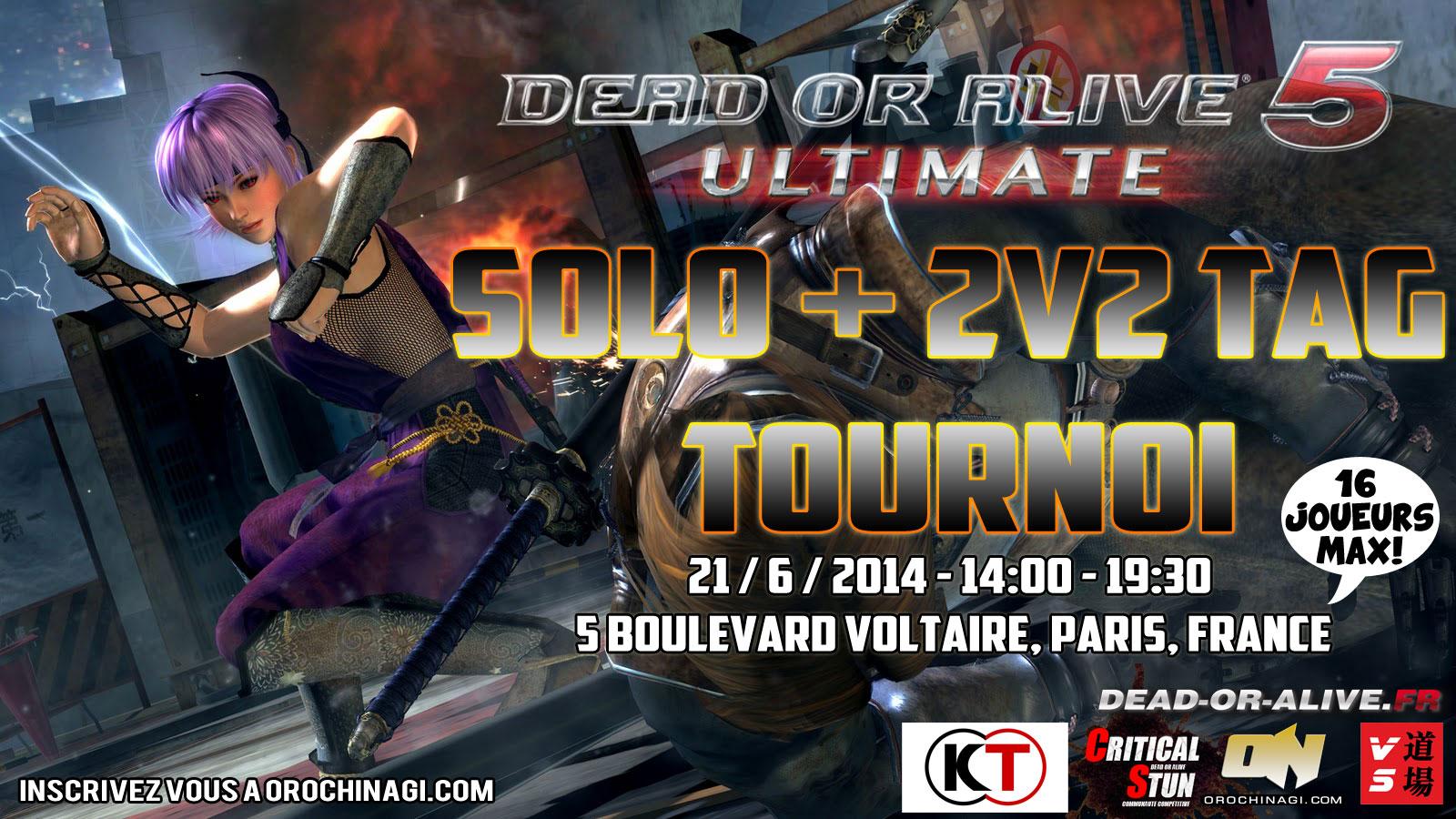 #DOA5U 2v2 Tag Battle @versusdojo @VSDOJO_TKO
