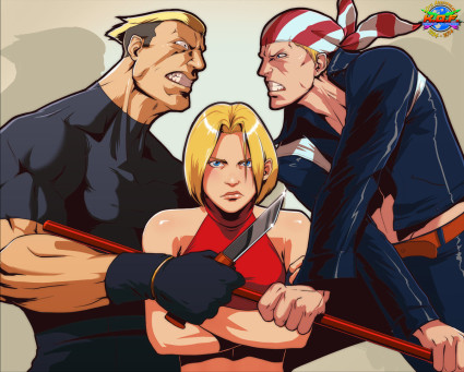 KOF-Tribute-Special-Team-King-of-Fighters-Yamazaki-Blue-Mary-Billy-Kane