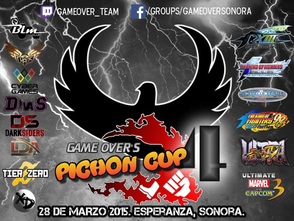 Pichon Cup 4… Road to Dream Cancel Cup Live from Mexico now!!! #KOFXIII