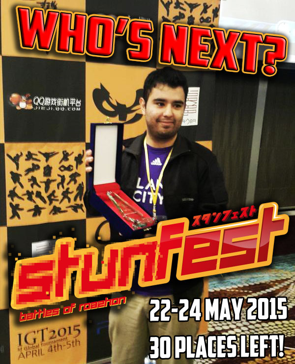 Misterio & Tokido confirmed for #STUNFEST #KOF