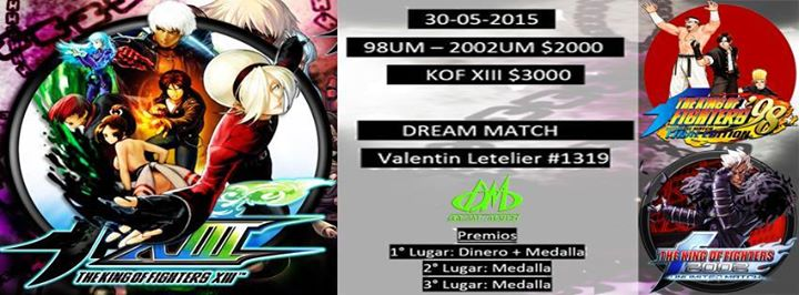 #KOF #UMVC3 #SSF2X Tournaments from Chilean FGC Tomorrow!