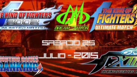 Dream Match #KOF Tournaments 25 July Chile