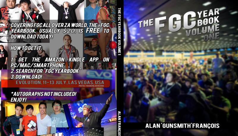 Free Fighting Games eBook! #FGC