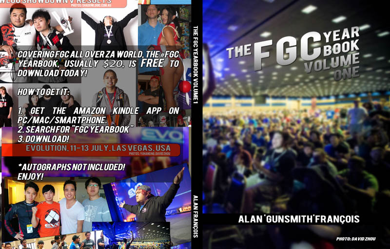 Free Fighting Games eBook! #FGC