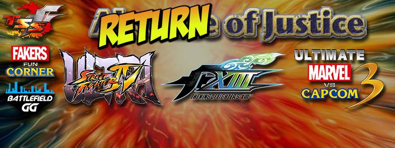 Return of Justice streaming now #UMVC3 #KOF #USF4