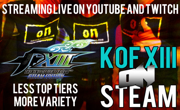 ONTV 25 #KOFXIII Stream
