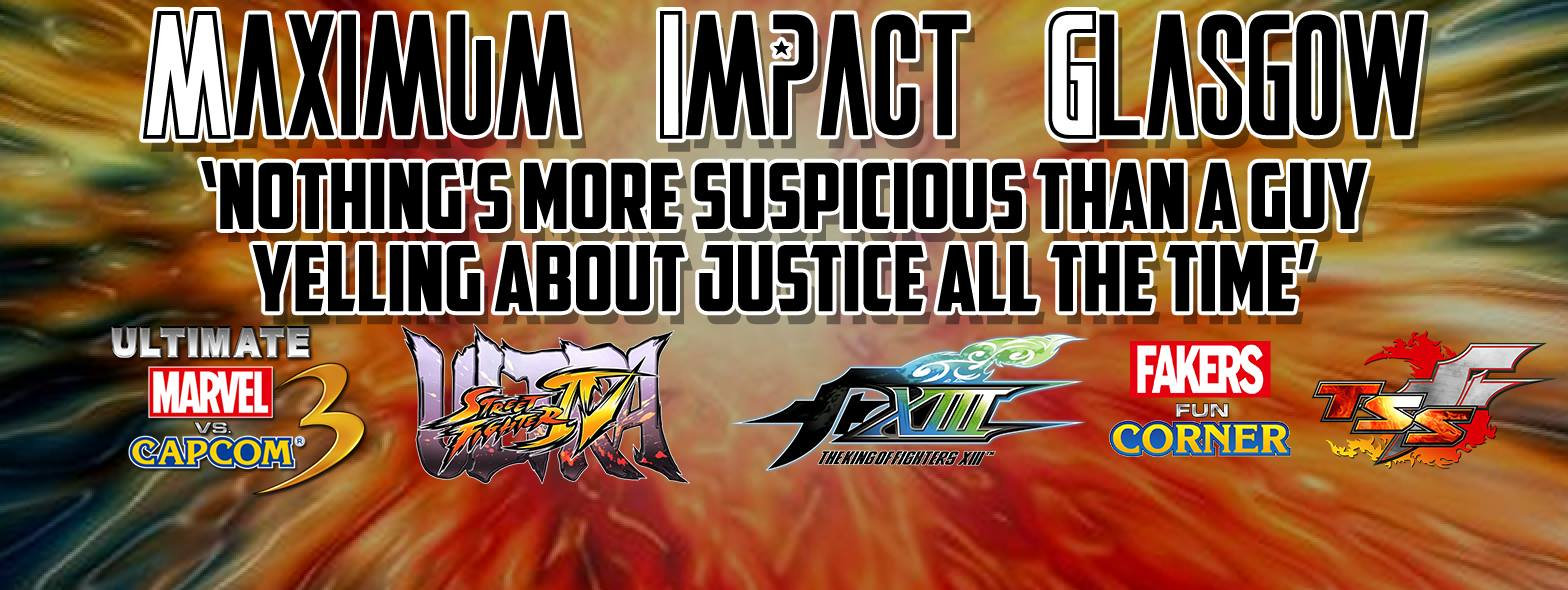Maximum Impact Glasgow Streaming Now #KOF