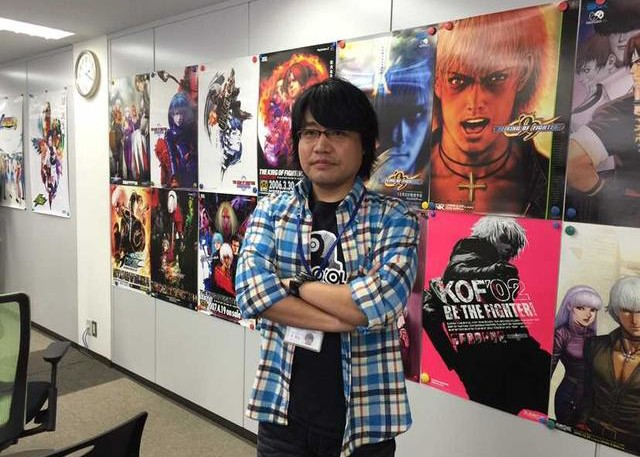 The King of Fighters 14 producer Yasuyuki Oda
