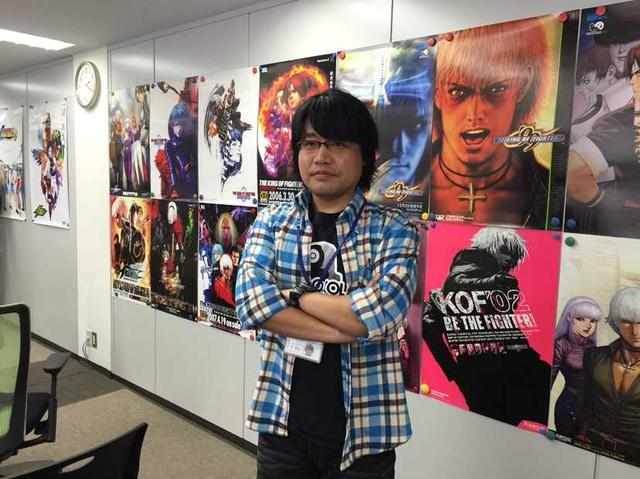The King of Fighters 14 producer Yasuyuki Oda