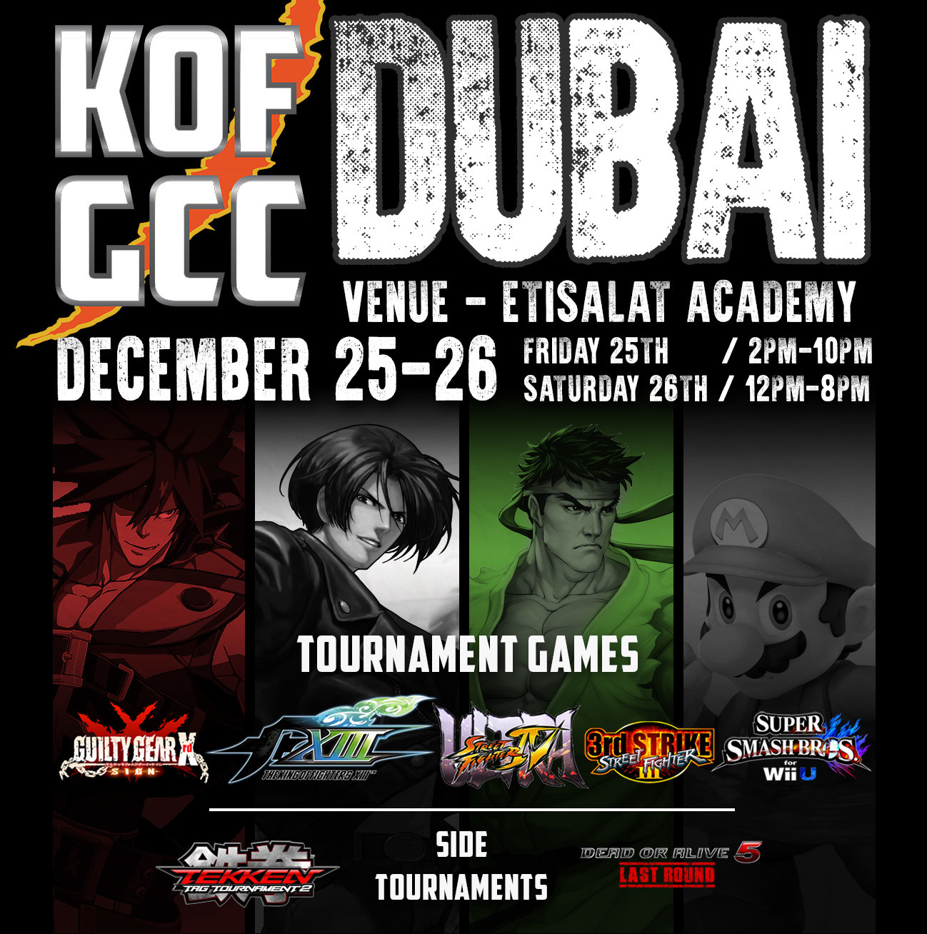 KOFGCC Pre-Tournament stream by Arcadecafe