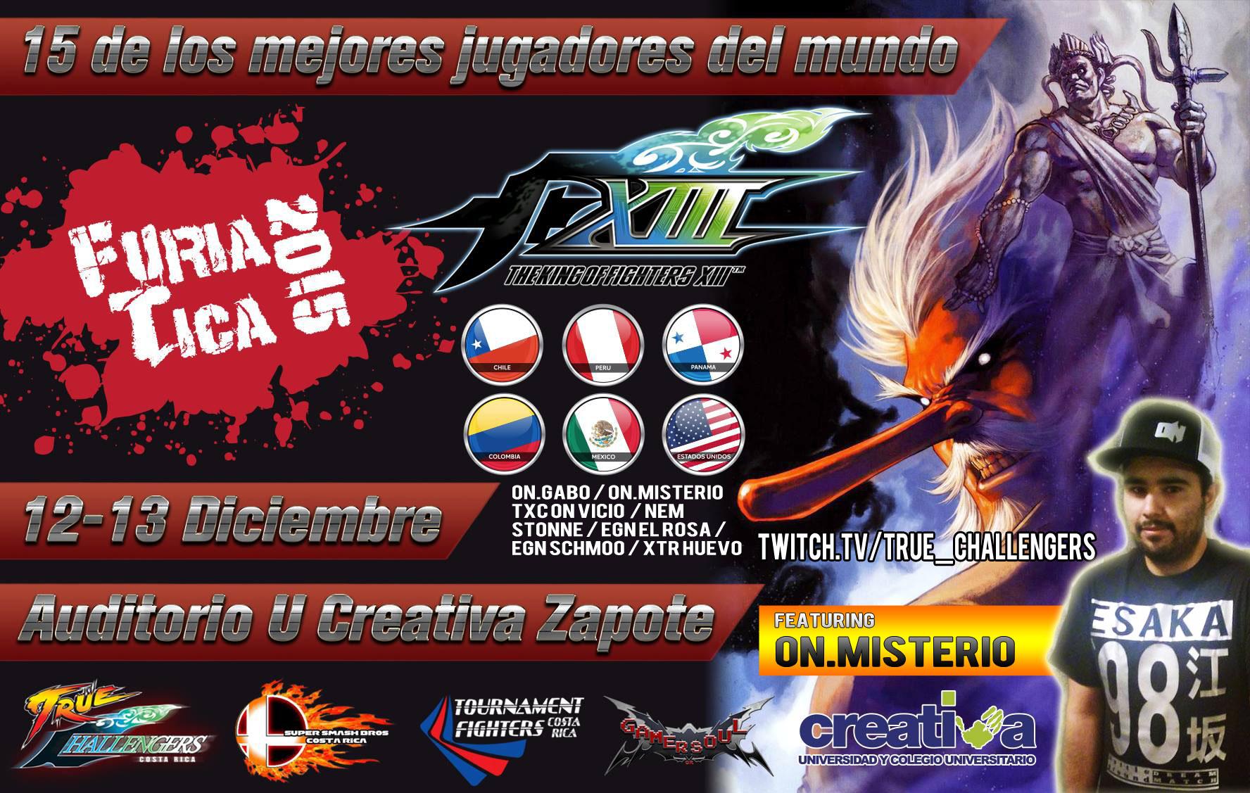 Furia Tica Tournament feat Misterio Streaming Now #FuriaTica #NEC16