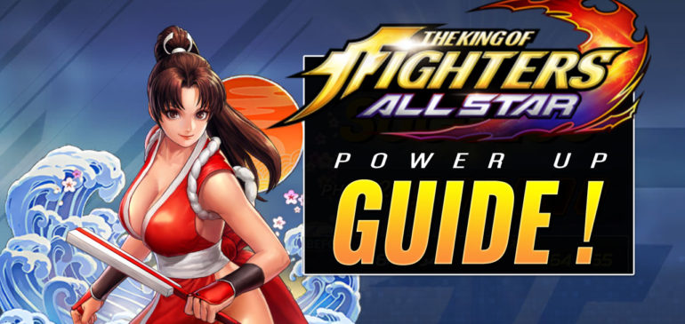 KOF AllStar Card level guide – power up max out