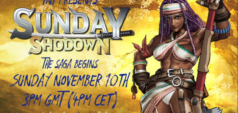 EU Events: Samurai Sunday Shodown PS4 XBOX
