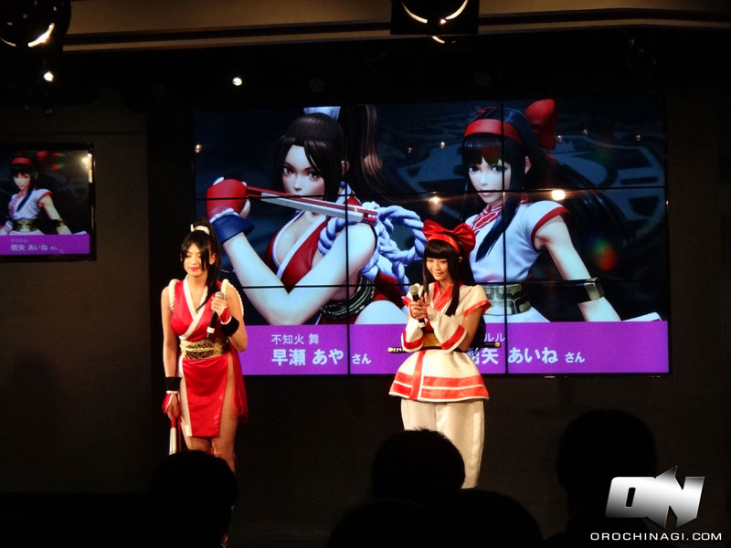 More details & video from the #KOFXIV Presentation at Esports Square
