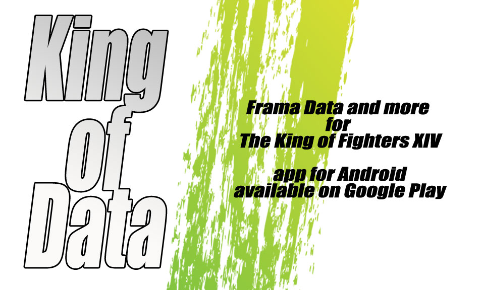 King of (Frame) Data App v1.1 released #KOFXIV