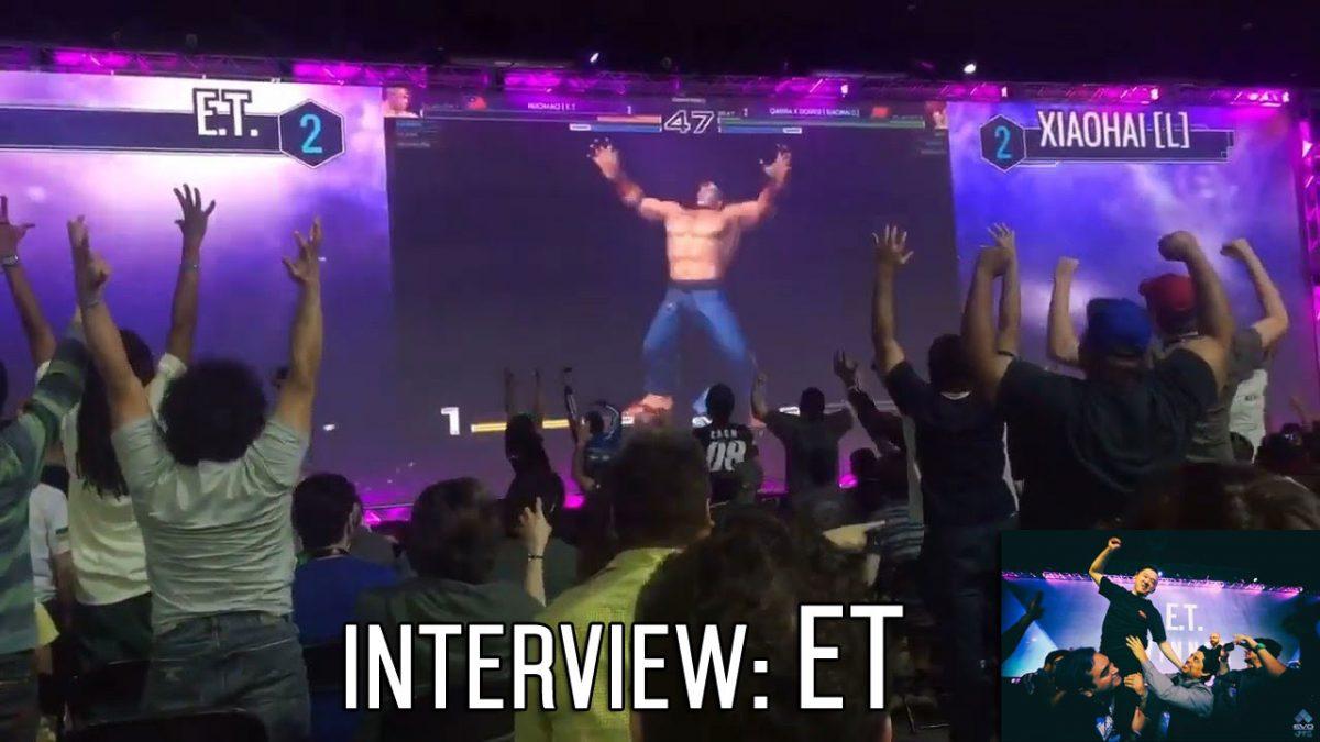 The ET Interview #EVO2017 #KOFXIV #ET