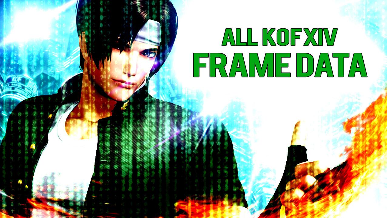 All Frame Data, Revolution #KOFXIV