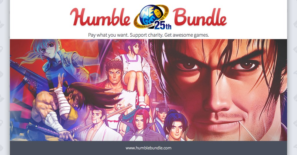 Humble Bundle Encore 72 hrs #KOF #MetalSlug #SNK