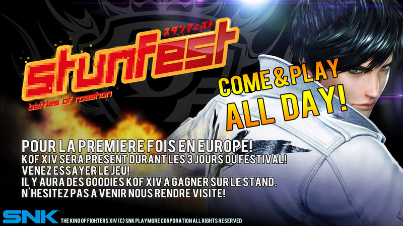 #KOFXIV Streams this weekend #Stunfest #Toryuken #KOFXIII